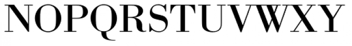 URW Bodoni ExtraWide Font UPPERCASE
