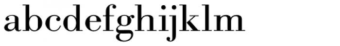 URW Bodoni ExtraWide Font LOWERCASE