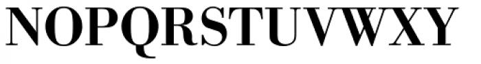 URW Bodoni Medium Font UPPERCASE