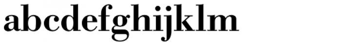 URW Bodoni Medium Font LOWERCASE