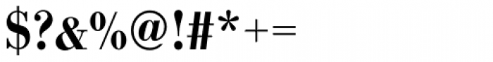 URW Bodoni Narrow Medium Font OTHER CHARS