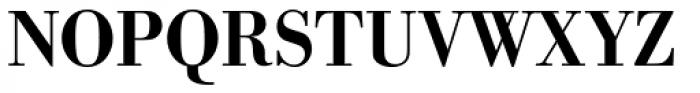 URW Bodoni Narrow Medium Font UPPERCASE