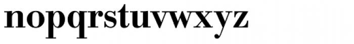 URW Bodoni Narrow Medium Font LOWERCASE