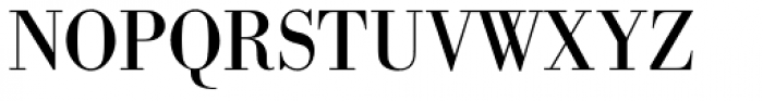 URW Bodoni Narrow Font UPPERCASE