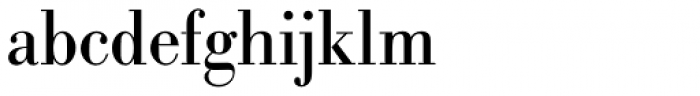 URW Bodoni Narrow Font LOWERCASE
