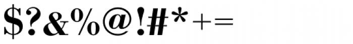 URW Bodoni Wide Medium Font OTHER CHARS