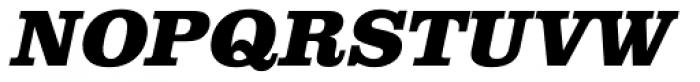 URW Clarendon ExtraBold Oblique Font UPPERCASE