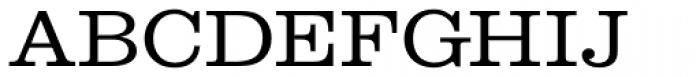 URW Clarendon ExtraWide Light Font UPPERCASE