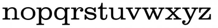 URW Clarendon ExtraWide Light Font LOWERCASE