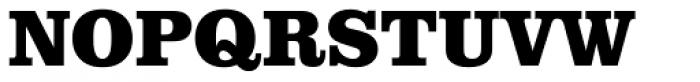 URW Clarendon Narrow ExtraBold Font UPPERCASE