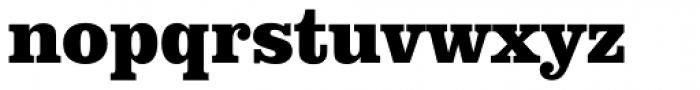 URW Clarendon Narrow ExtraBold Font LOWERCASE