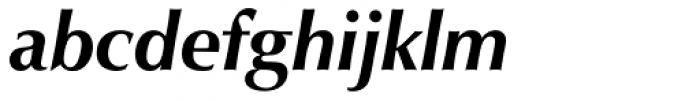 URW Classico Bold Italic Font LOWERCASE