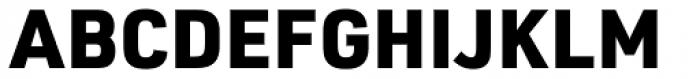 URW DIN Black Font UPPERCASE