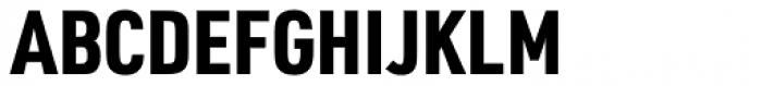 URW DIN Condensed Black Font UPPERCASE