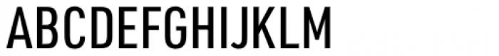 URW DIN Condensed Medium Font UPPERCASE