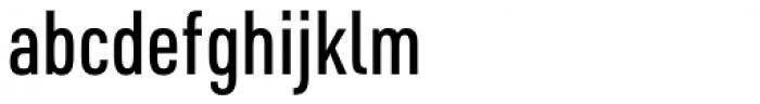 URW DIN Condensed Medium Font LOWERCASE