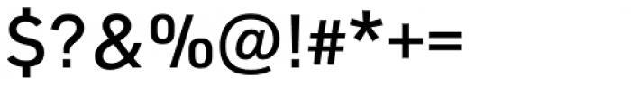 URW DIN Medium Font OTHER CHARS