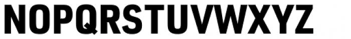 URW DIN Semi Condensed Black Font UPPERCASE