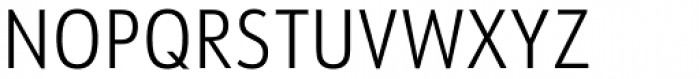 URW Form Cond Light Font UPPERCASE