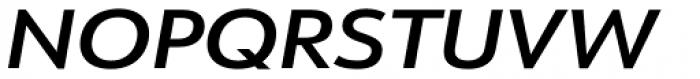 URW Form Expand Demi Italic Font UPPERCASE