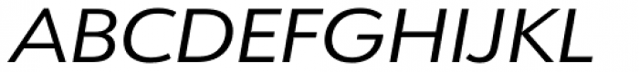 URW Form Expand Italic Font UPPERCASE