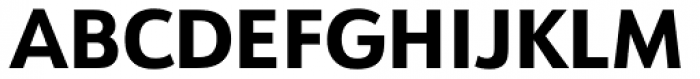 URW Form Extra Bold Font UPPERCASE
