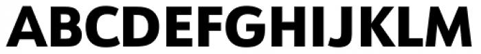 URW Form Heavy Font UPPERCASE