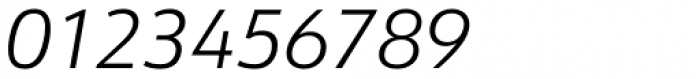 URW Form Light Italic Font OTHER CHARS