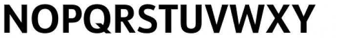 URW Form Semi Cond Bold Font UPPERCASE