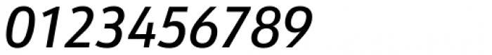 URW Form Semi Cond Medium Italic Font OTHER CHARS