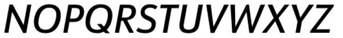 URW Form Semi Cond Medium Italic Font UPPERCASE
