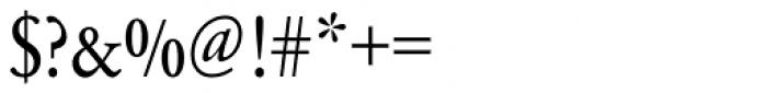 URW Garamond ExtraNarrow Font OTHER CHARS
