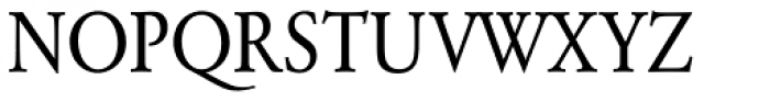 URW Garamond ExtraNarrow Font UPPERCASE