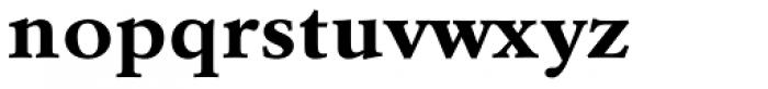 URW Garamond ExtraWide Bold Font LOWERCASE