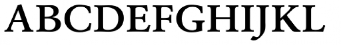 URW Garamond ExtraWide Demi Font UPPERCASE