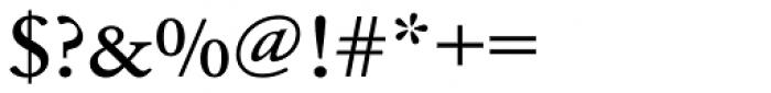 URW Garamond ExtraWide Medium Font OTHER CHARS