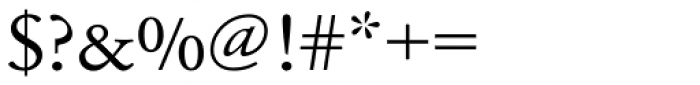 URW Garamond ExtraWide Font OTHER CHARS