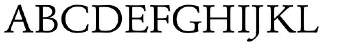 URW Garamond ExtraWide Font UPPERCASE