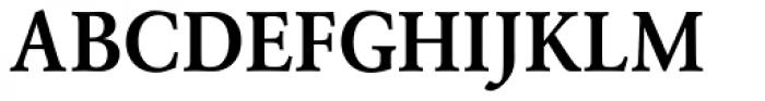 URW Garamond Narrow Demi Font UPPERCASE