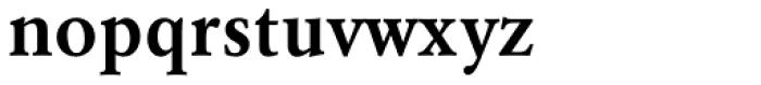 URW Garamond Narrow Demi Font LOWERCASE