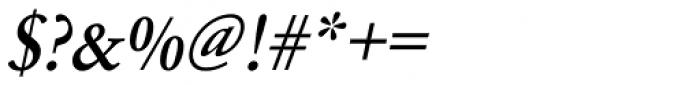 URW Garamond Narrow Medium Oblique Font OTHER CHARS