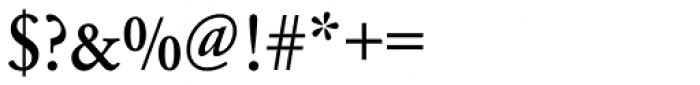 URW Garamond Narrow Medium Font OTHER CHARS