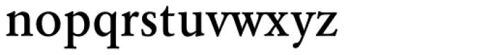 URW Garamond Narrow Medium Font LOWERCASE