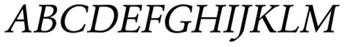 URW Garamond Oblique Font UPPERCASE
