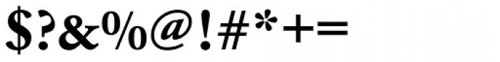 URW Garamond Wide Bold Font OTHER CHARS