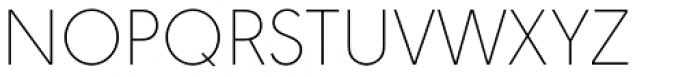 URW Geometric Arabic Thin Font UPPERCASE