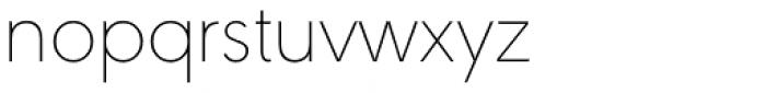 URW Geometric Arabic Thin Font LOWERCASE