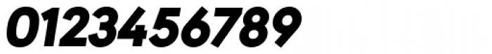 URW Geometric Black Oblique Font OTHER CHARS