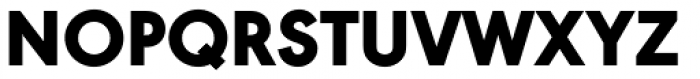 URW Geometric Black Font UPPERCASE