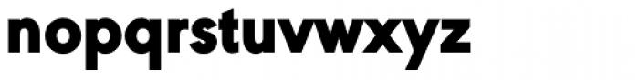URW Geometric Black Font LOWERCASE
